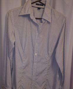 Gap dress shirt.striped,sexy and professional!